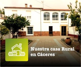 Alquiler de casa rural en Cáceres