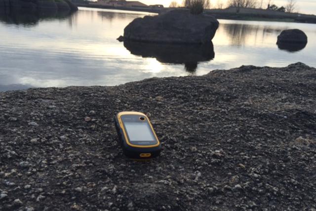 GPS para realizar geocaching