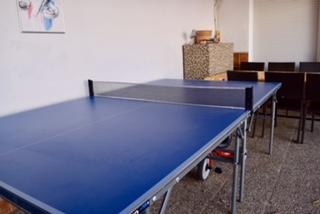 mesa ping pong casa rural valle secreto