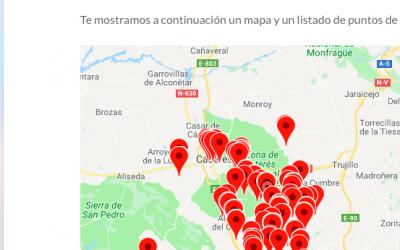 Excepcional noticia para los huéspedes de la Casa Rural Valle Secreto en Cáceres
